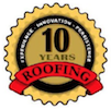 10 years roofing
